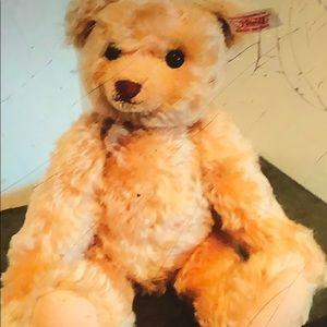 Authentic Steiff /Swarovski Mohair Bear
